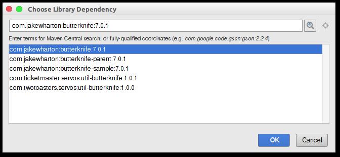 android-studio-add-dependencia